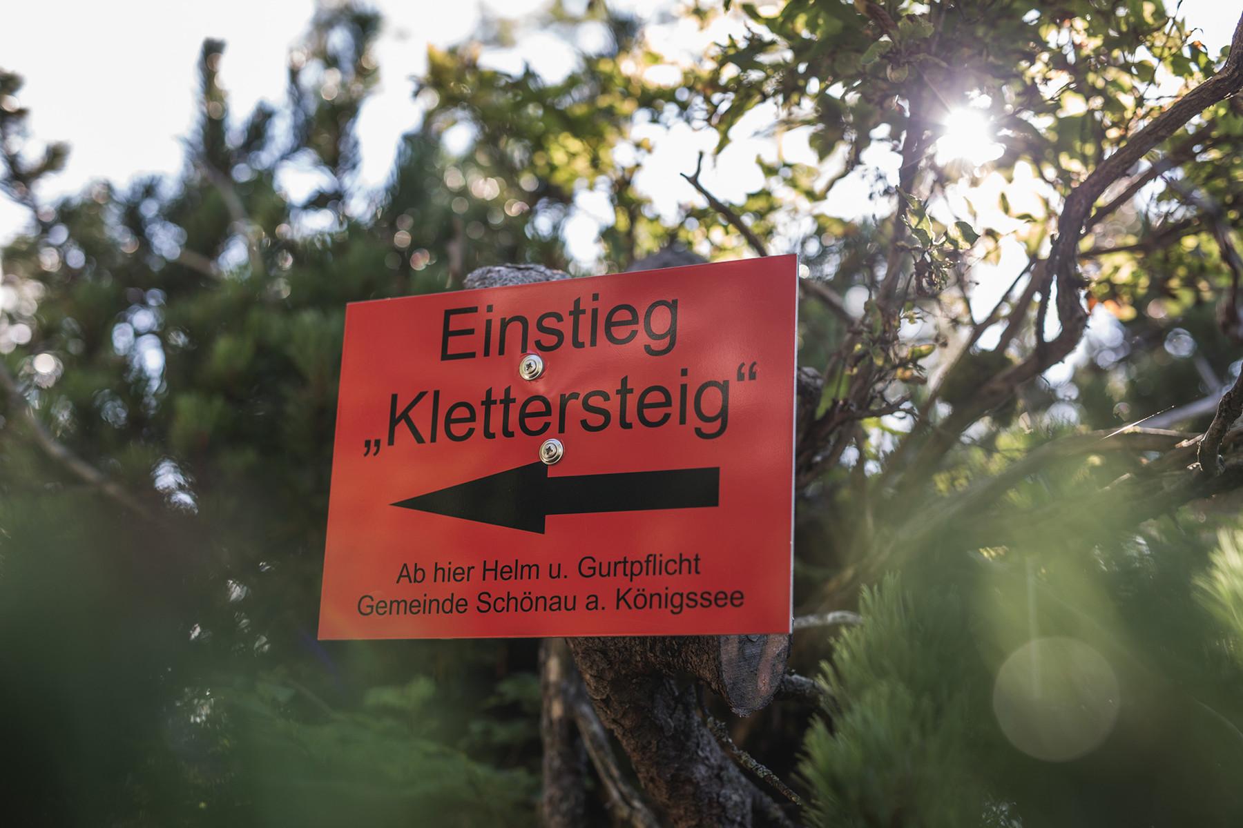 Klettersteigset Verleih Berchtesgaden : Klettersteig kompetenzzentrum: kletterberatung berchtesgaden